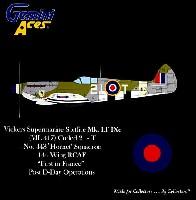 スピットファイヤ Mk.9 RAF ML417 443 SQD/RCAF Hornet
