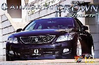 アオシマ1/24 スーパー VIP カーエイムゲイン ユーロエディション 200 クラウン アスリート