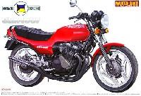 アオシマ1/12 ネイキッドバイクホンダ CBX400F モリワキ仕様