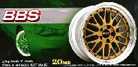 アオシマ1/24 Sパーツ タイヤ&ホイールBBS LM (20インチ) (ゴールド)