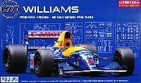 フジミ1/20 GPシリーズウィリアムズ・ルノー FW14B 1992年 イギリスGP仕様
