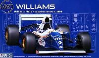 フジミ1/20 GPシリーズウィリアムズ FW16 1994年 ブラジルGP仕様