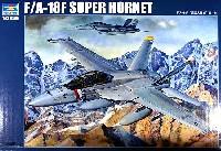 トランペッター1/32 エアクラフトシリーズアメリカ海軍 F/A-18F スーパーホーネット