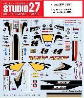 スタジオ27バイク オリジナルデカールホンダ RC212V LCR #14 ランディ・ド・プニエ 2009年 サンマリノGP仕様