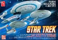 amtスタートレック(STAR TREK)シリーズエンタープライズ 3隻セット NCC-1701/NCC-1701A/NCC-1701B