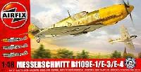 エアフィックス1/48 ミリタリーエアクラフトメッサーシュミット Bf109E-1/E-3/E-4 バトル オブ ブリテン