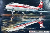 AZ model1/144 Airport (エアライナーなど)ツポレフ Tu-134 インターフルーク 東ドイツ国営航空