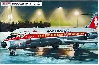 AZ model1/144 Airport (エアライナーなど)ダグラス DC-9-32 スイス航空/ヤット ユーゴスラビア国営航空