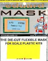 エデュアルド1/72 エアクラフト用 エデュアルド マスク (CX-×)ラファール A用 マスキングシート (ホビーボス対応)