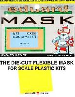 エデュアルド1/72 エアクラフト用 エデュアルド マスク (CX-×)シーハリアー FRS.1用 マスキングシート (エアフィックス対応)