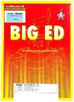 エデュアルド1/48 BIG ED (AIR)キャンベラ B2用 エッチングパーツセット (エアフィックス対応)