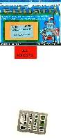 エデュアルド1/48 エアクラフト用 カラーエッチング (49-×)B-24D リベレーター用 コクピット・計器盤 エッチングパーツ (レベル・モノグラム対応)
