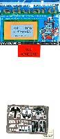 エデュアルド1/48 エアクラフト用 カラーエッチング (49-×)F-15E ストライクイーグル用  インテリア エッチングパーツ (アカデミー対応)
