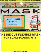 エデュアルド1/48 エアクラフト用 エデュアルド マスク (EX-×)F-111A アードバーグ用 マスキングシート (ホビーボス対応)