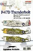 P-47D サンダーボルト レザーバック 69th、310th & 311th FS、/58th FG