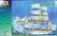ズベズダ帆船フランス局地 探検帆船 ブルコワ・パ号