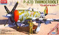 アカデミー1/48 Scale AircraftsP-47D サンダーボルト ガブレスキー