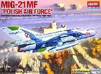 アカデミー1/48 Scale AircraftsMIG-21MF ポーランド空軍