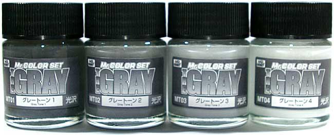 THE GRAY (ザ・グレイ)塗料(GSIクレオスMr.カラー 特色セットNo.CS564)商品画像_1