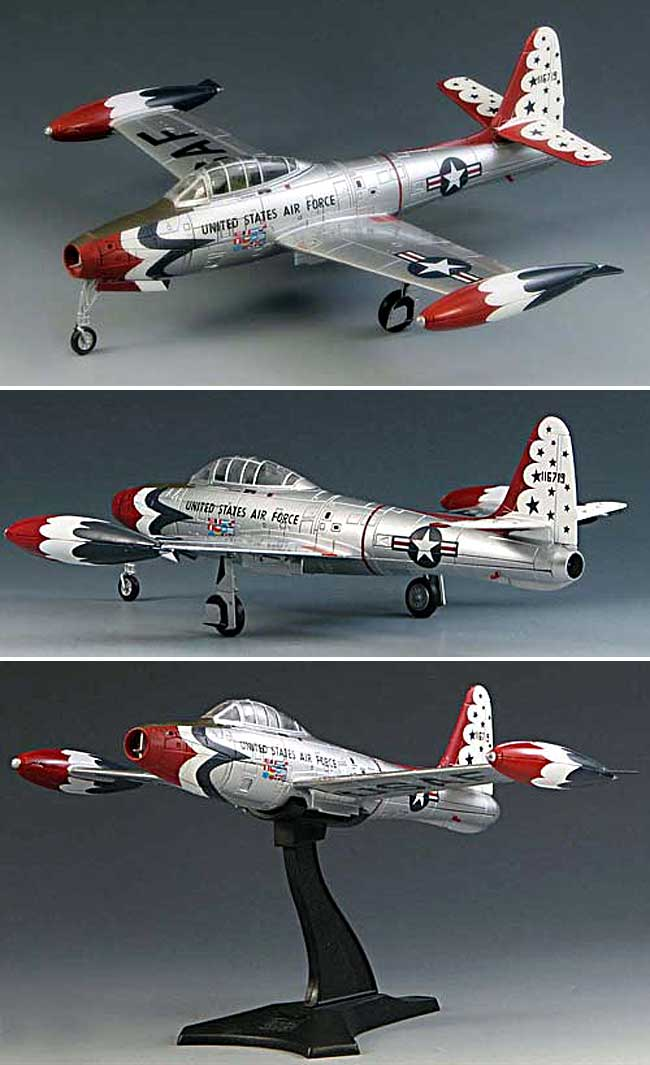 F-84G サンダージェット サンダーバーズ完成品(スカイマックス1/72 完成品モデルNo.SM6004)商品画像_2