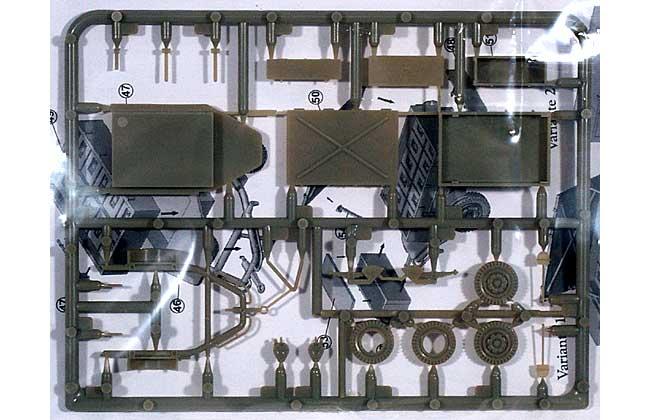 弾薬運搬リンバー (37mm 対空砲用)プラモデル(マコ1/72 AFVキットNo.7203)商品画像_1