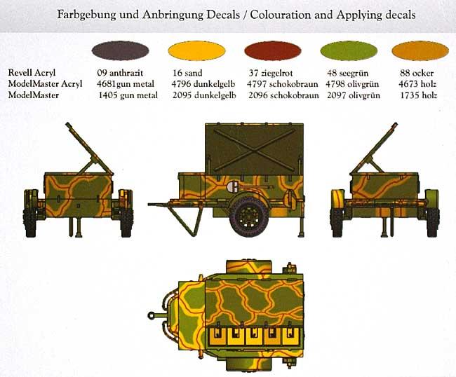 弾薬運搬リンバー (37mm 対空砲用)プラモデル(マコ1/72 AFVキットNo.7203)商品画像_2