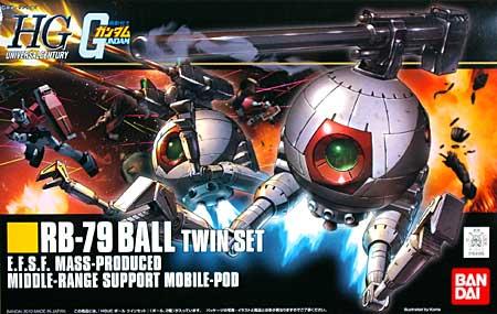 RB-79 ボール ツインセット (2機セット)プラモデル(バンダイHGUC (ハイグレードユニバーサルセンチュリー)No.114)商品画像