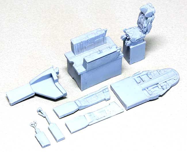 MiG-21MF フィッシュベット用 コクピットセットレジン(ウルフパック1/48 レジンアップデート コンバージョンセット (WP)No.48094)商品画像_1