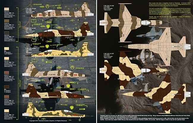 F-5E タイガー 2 ネリス ゴマーズ パート 2デカール(トゥーボブス1/48 エアクラフト用 デカールNo.48-212)商品画像_1