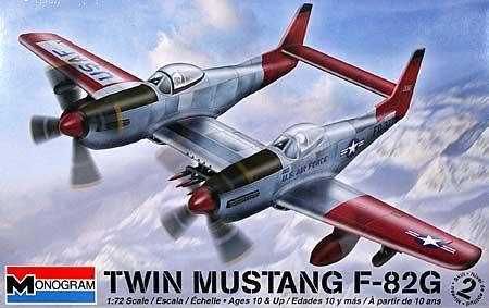 F-82G ツインムスタングプラモデル(レベル/モノグラム1/72 飛行機モデルNo.85-5257)商品画像