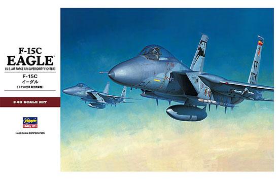 F-15C イーグルプラモデル(ハセガワ1/48 飛行機 PTシリーズNo.PT049)商品画像