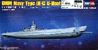 ホビーボス1/350 艦船モデルドイツ海軍 Uボート Type 9C