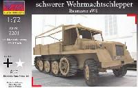 マコ1/72 AFVキットドイツ sWS 重ハーフトラック ソフトキャビン