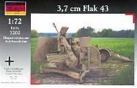 マコ1/72 AFVキットドイツ 3.7cm Flak43 対空砲 + 牽引リンバー