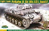 ドイツ 2号戦車 F型 (Sd.Kfz.121 Ausf.F)