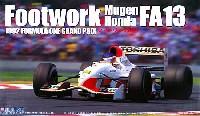 フジミ1/20 GPシリーズ SP (スポット)フットワーク 無限 ホンダ FA13 (1992年 F1GP)
