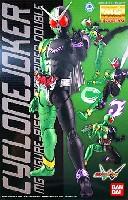 バンダイマスターグレード フィギュアライズ (MG FIGURERISE)仮面ライダー W サイクロンジョーカー