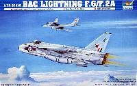 トランペッター1/72 エアクラフト プラモデルイギリス空軍 BAC ライトニング F.2A/F.6