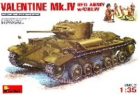 ミニアート1/35 WW2 ミリタリーミニチュアバレンタイン Mk.4 歩兵戦車 ソビエト軍仕様