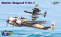 バロムモデル1/72 エアクラフト プラモデルブリストル ブリガンド T.Mk4