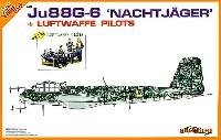 WW.2 ドイツ空軍Ju88 G-6 ナハトイエーガー w/ドイツ空軍パイロット