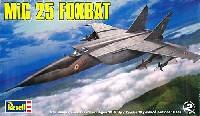 レベル1/48 飛行機モデルMiG-25 フォックスバット