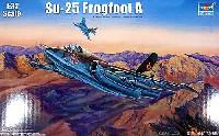 トランペッター1/32 エアクラフトシリーズSu-25 フロッグフット A型