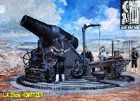 ピットロード1/35 グランドアーマーシリーズ日本陸軍 28cm 榴弾砲 (旅順攻略戦) エッチングパーツ付