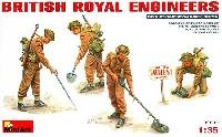 ミニアート1/35 WW2 ミリタリーミニチュアイギリス軍 地雷除去工兵セット