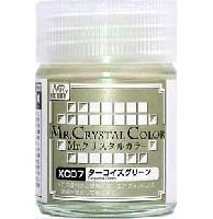 GSIクレオスMr.クリスタルカラーターコイズグリーン