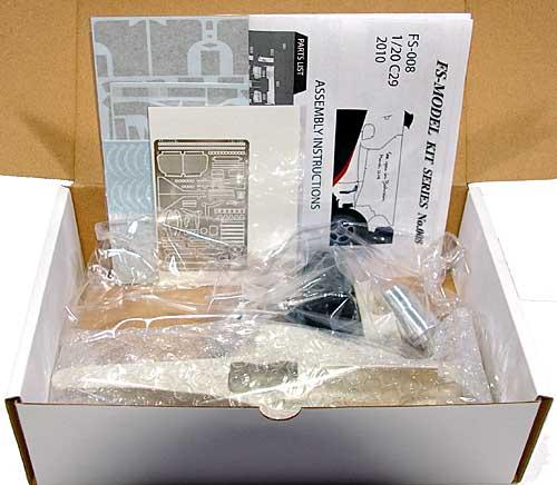 ザウバー C29 前期仕様 2010レジン(FS-MODEL1/20 スタンダード レジンキットNo.FS008)商品画像