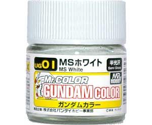 MSホワイト塗料(GSIクレオスガンダムカラー (単色)No.UG001)商品画像