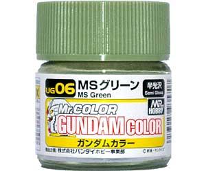 MSグリーン塗料(GSIクレオスガンダムカラー (単色)No.UG006)商品画像