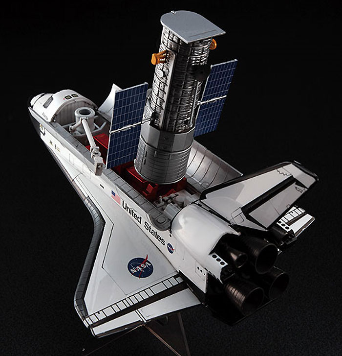 スペースシャトル & ハッブル宇宙望遠鏡プラモデル(ハセガワ1/200 飛行機 限定生産No.10676)商品画像_2